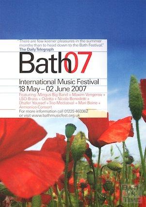 Bath Festival Poster 2007