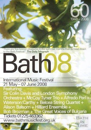 Bath Festival Poster 2008