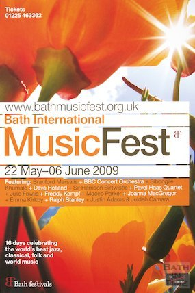 Bath Festival Poster 2009