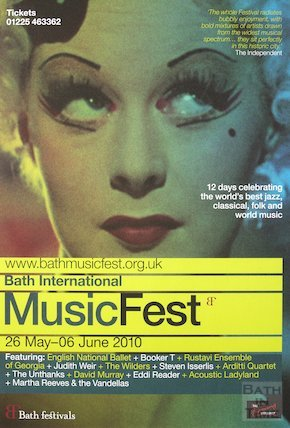 Bath Festival Poster 2010