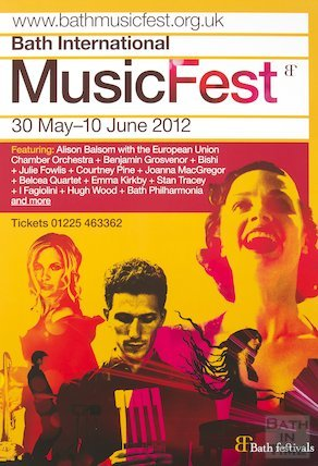 Bath Festival Poster 2012