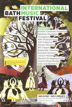 Bath Festival Poster 2013