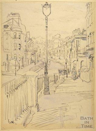 Belmont, Lansdown Road, Bath c.1916