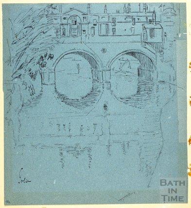 Pulteney Bridge, Bath c.1916