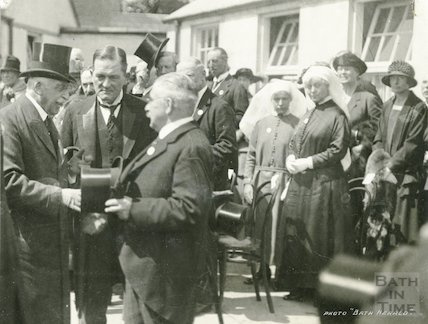 HRH The Duke of Connaught opens a new hospital at Bath, 1924