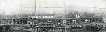 Brunel viaduct, Lower Bristol Road, 7th Nov 1962