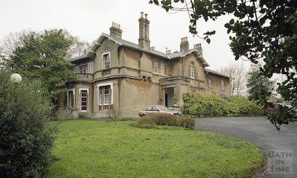 Fairfield House, former home of Emperor Haile Selassie in Bath, 25 November 1994