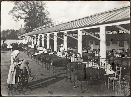 The Bath, Somerset & Wilts Central Children's Orthopaedic Hospital, Combe Park, Bath c.1927