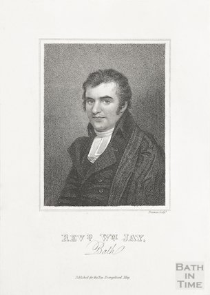 Engraving Rev. Wm. Jay (1803)