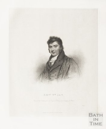 Engraving Revd. William Jay, April 1st 1817