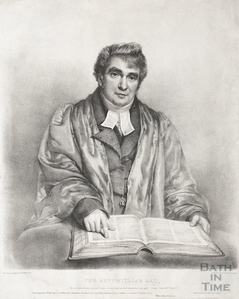 Engraving Revd. William Jay, 1822