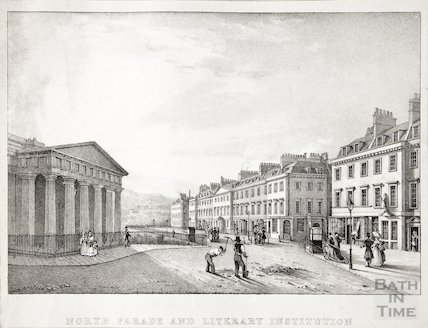 North Parade and Literary Institution 1828