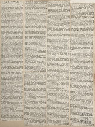 Argyle Chapel, Bath September 2nd 1862