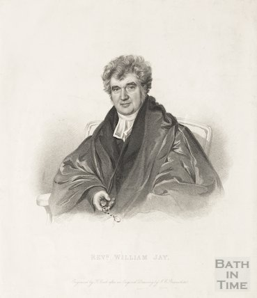 Engraving Revd. William Jay
