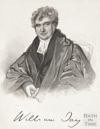 Signed Engraving Revd. William Jay