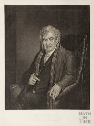 Engraving Revd. William Jay, 1842