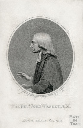 The Reverend John Wesley A.M. 1792