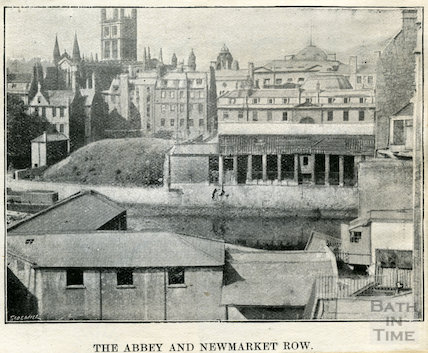 The Abbey and Newmarket Row c.1890s?