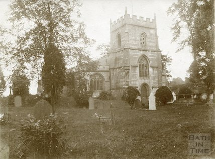 St. Michael's Church, Twerton, Bath c.1904