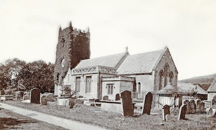 St. Nicholas Church, Bathampton Church c.1890