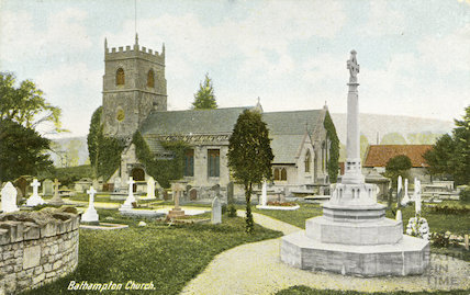 St. Nicholas Church, Bathampton c.1907