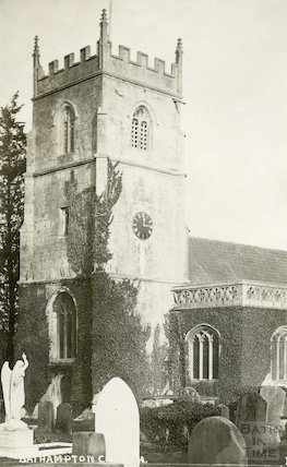 St. Nicholas Church, Bathampton c.1908