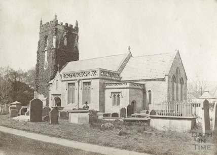 St. Nicholas Church, Bathampton. View from the East. c.1880
