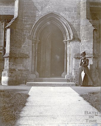 Croscombe Church Entrance c.1880