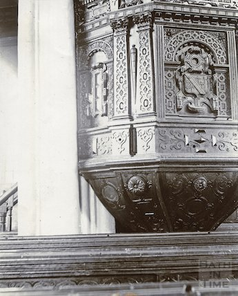 Croscombe Church Pulpit c.1880