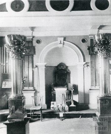 Masonic Hall Interior c.1900