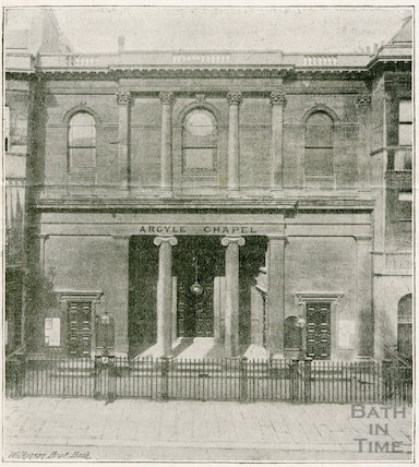 Argyle Chapel, Argyle Street