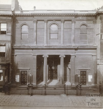 Argyle Congregational Chapel facade, c.1900