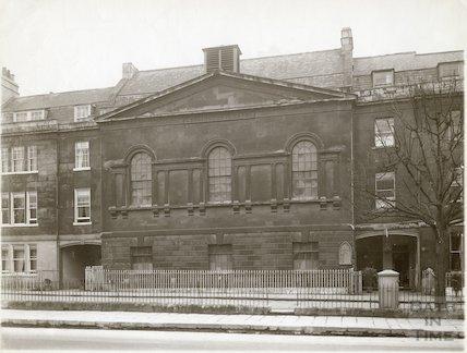 Kensington Chapel, Kensington Place, London Road, Bath c.1903