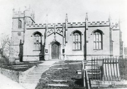 All Saints Church, Weston, Bath pre 1893
