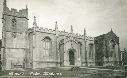 All Saints Church, Bath c.1915