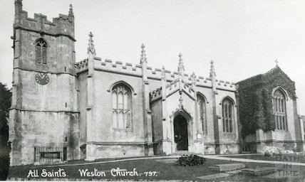 All Saints Church, Weston, c.1920s
