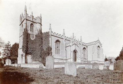 All Saints Church, Upper Weston c.1905
