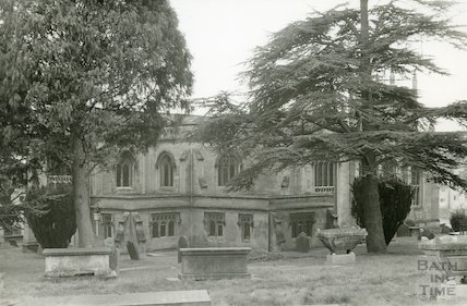 All Saints Church, Weston , North side, c.1960s