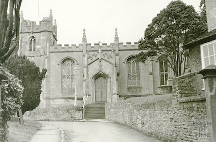 All Saints Church, Weston, South side, c.1960s