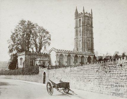 Batheaston Church, Northend, c.1860