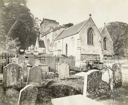 Claverton Church, Bath, c.1880s