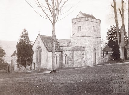 Claverton Church, Bath c.1880