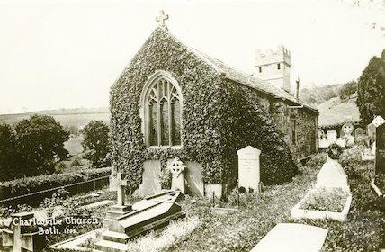 Charlcombe Church, c.1920s