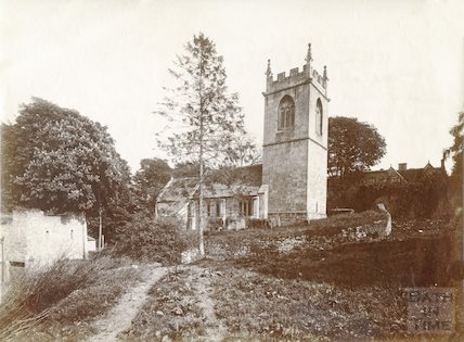 St. Catherine's Church, North end looking South towards St. Catherine's Court c.1880