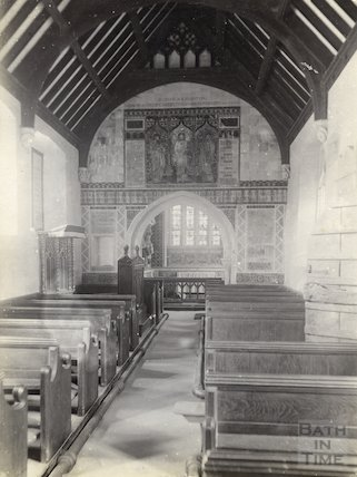 St. Catherine's Church interior c.1900