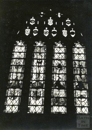 East Window of St. Catherine's Church, Batheaston, c.1920s