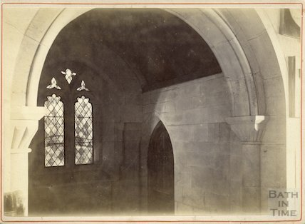Interior of St. Mary's, Tory, Bradford On Avon c.1880