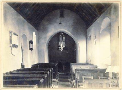 Interior of St. Mary's, Tory, Bradford On Avon c.1880