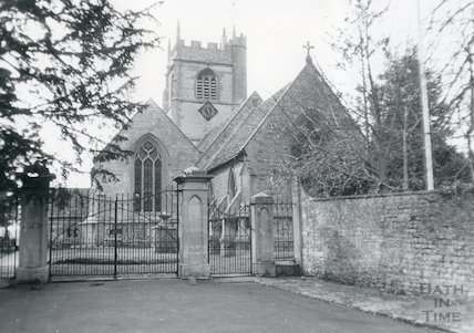 Newton St. Loe Church c.1970s