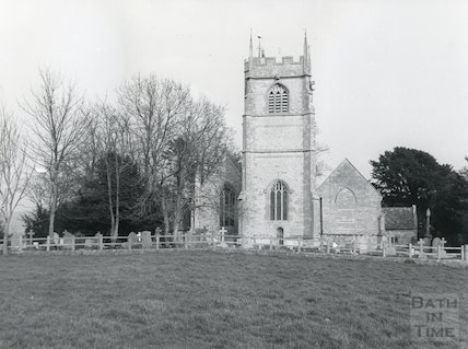 Newton St. Loe Church c.1970s